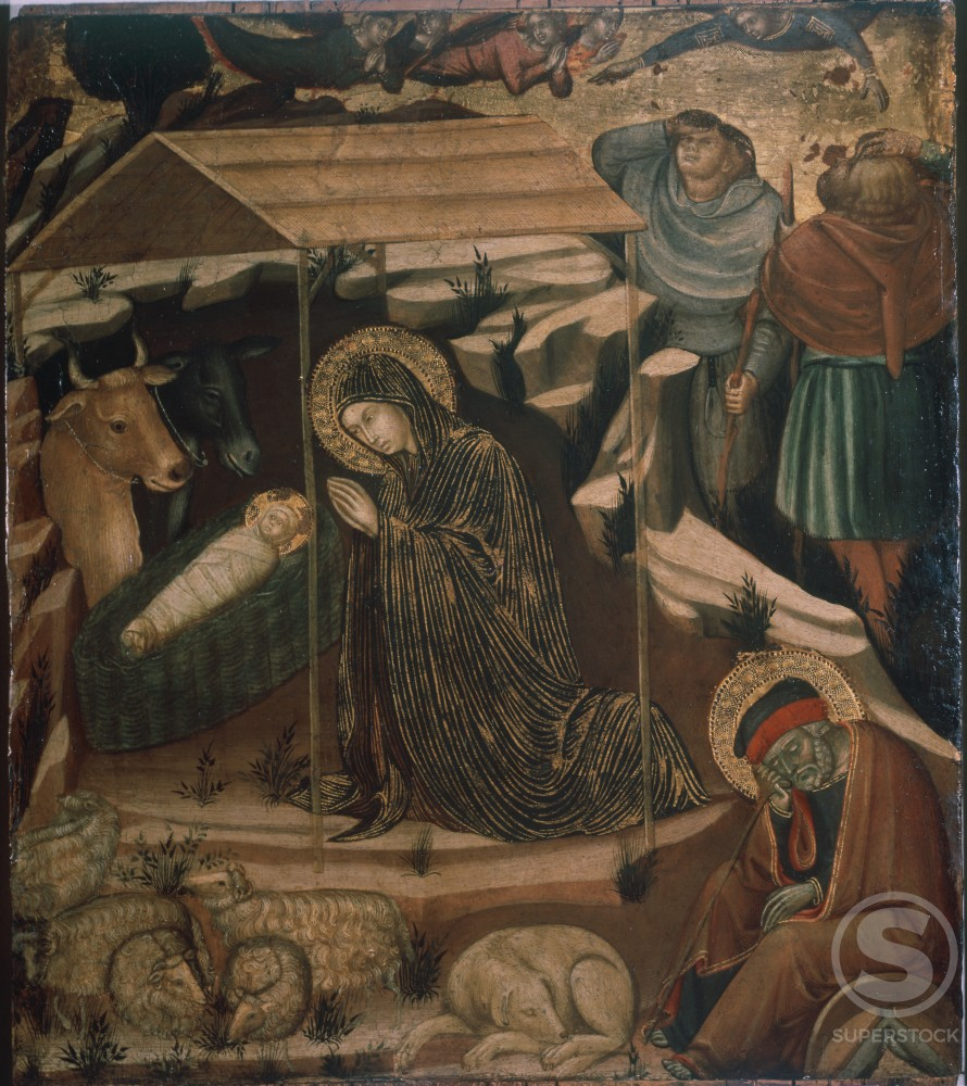 Stock Photo: 457-553 Adoration of the Child 
