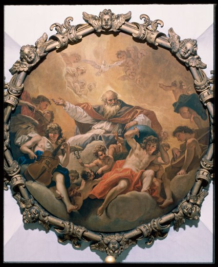 Stock Photo: 457-595 Eternal Father in Glory 