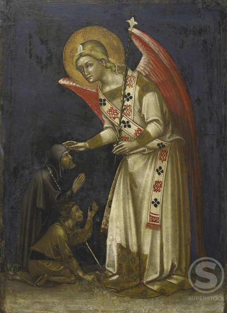 Stock Photo: 457-621 Archangel Gabriel