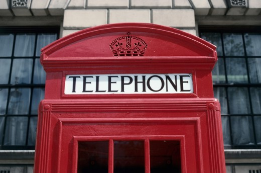 Stock Photo: 459-651C Phone Booth