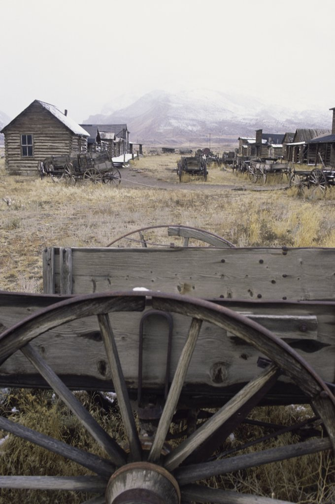 Stock Photo: 46-1140A Old Trail Town