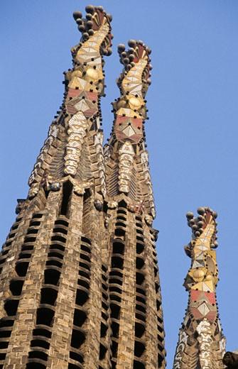 Sagrada Familia,  close up,  Spain,  Barcelona : Stock Photo