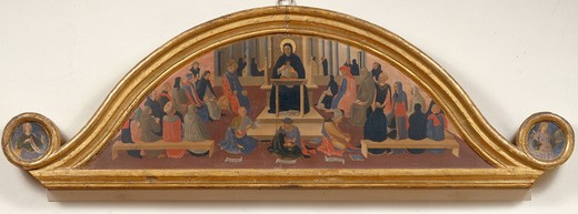 Stock Photo: 463-281828 Fra Angelico;School of Thomas of Aquin