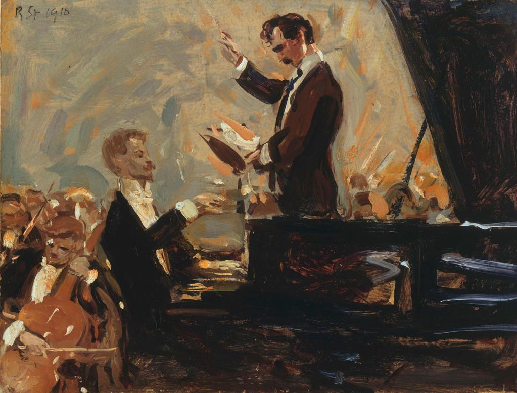 Skrjabin in piano concert;Sterl : Stock Photo
