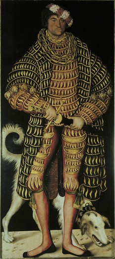 Stock Photo: 463-281952 Duke Henry the Pious of Saxony , Cranach