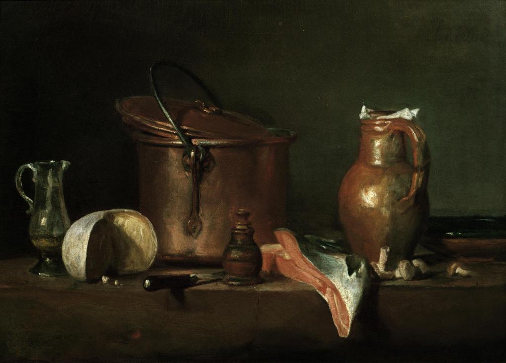 Stock Photo: 463-282155 Chardin / Still Life / Copper Pan