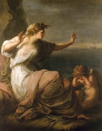 Stock Photo: 463-282324 Kauffmann / The Abandoned Ariadne / 1782