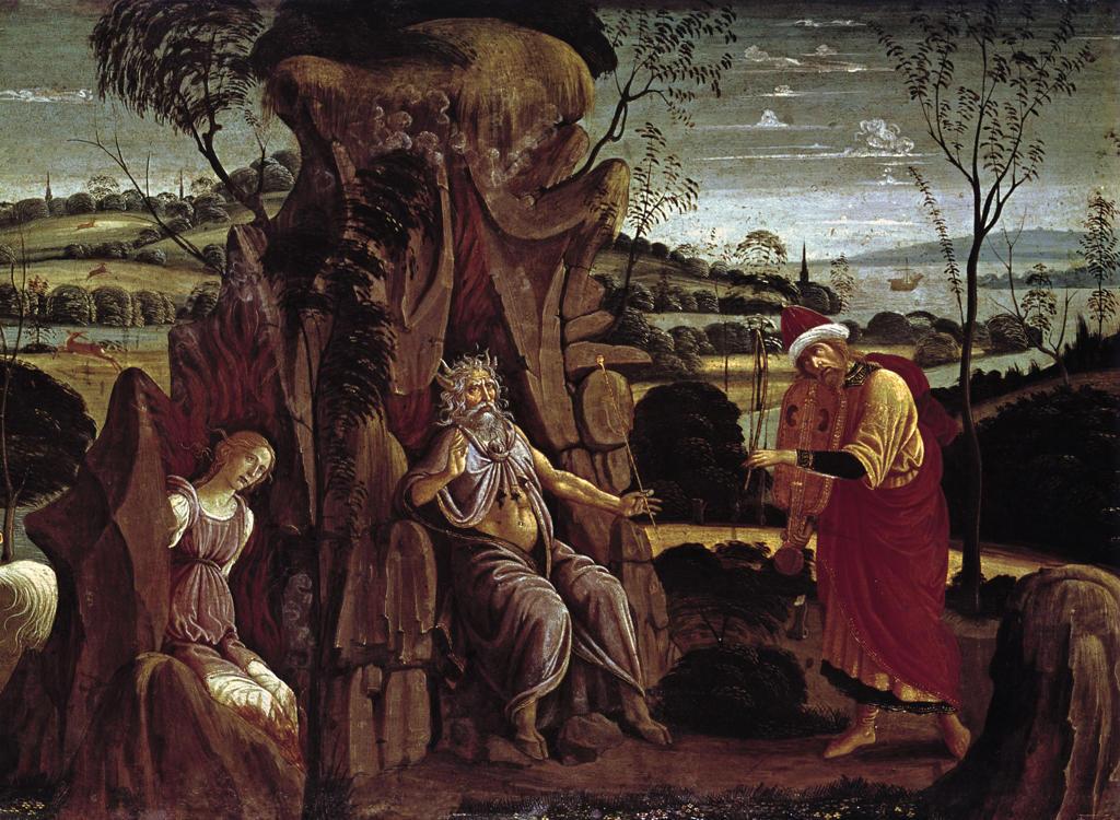 Jacopo del Sellaio / Orpheus Underworld : Stock Photo