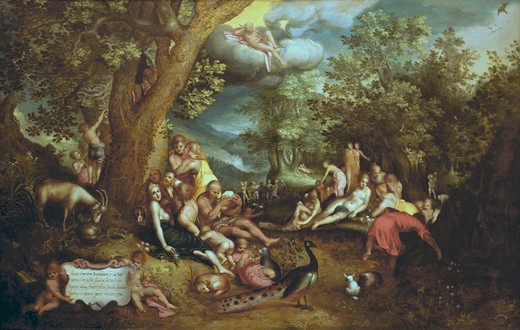Stock Photo: 463-282534 J.Brueghel t.E., The Golden Age