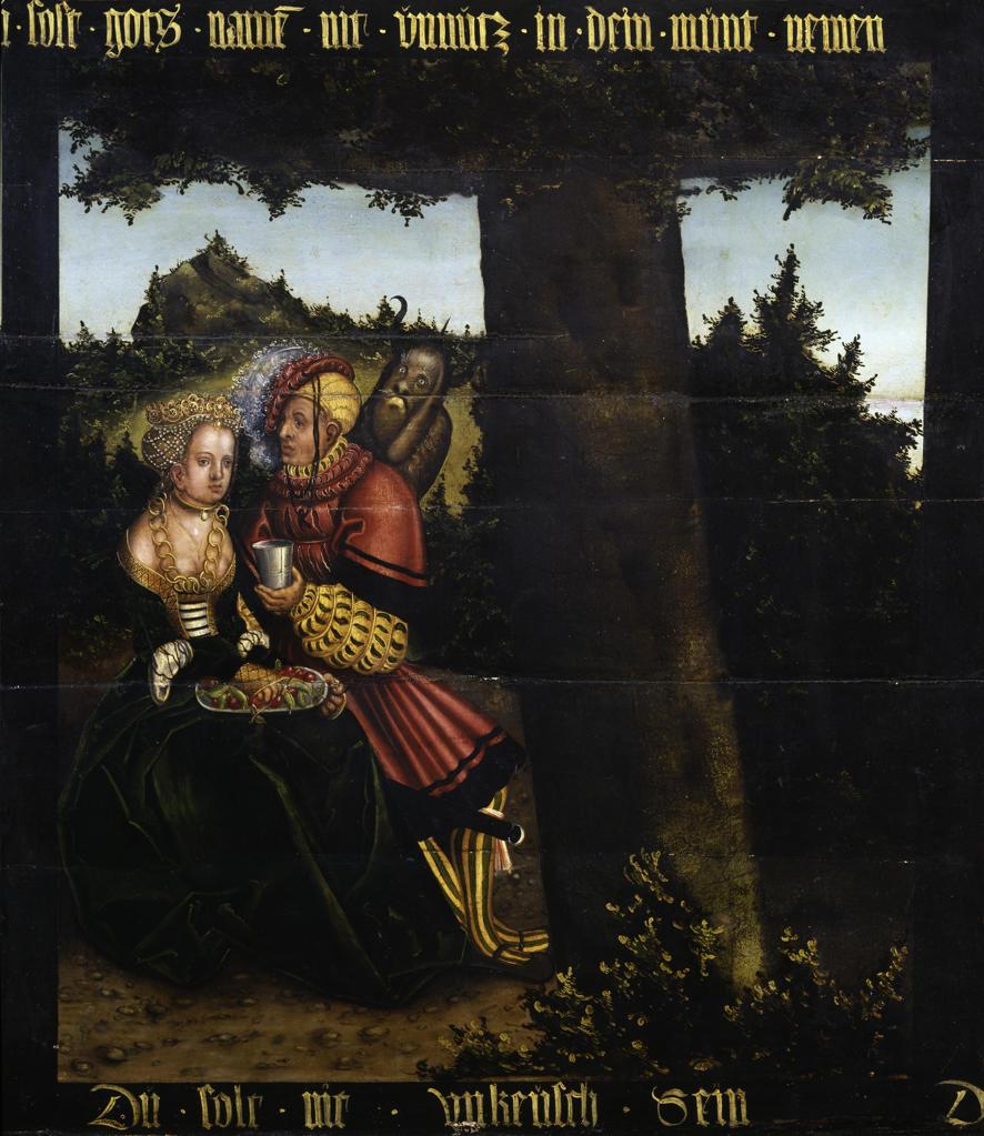 Stock Photo: 463-282632 L.Cranach the Elder/6th Commandment/1516