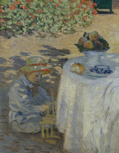 Stock Photo: 463-282674 Monet / Le Dejeuner / 1872 / Detail