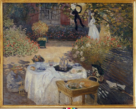 Stock Photo: 463-282675 Monet / Le Dejeuner / 1872