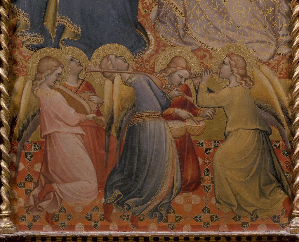 Stock Photo: 463-282698 Niccolo di Pietro Gerini /Concert Angels