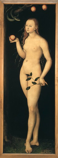 L.Cranach the Elder / Eve / c.1528 : Stock Photo