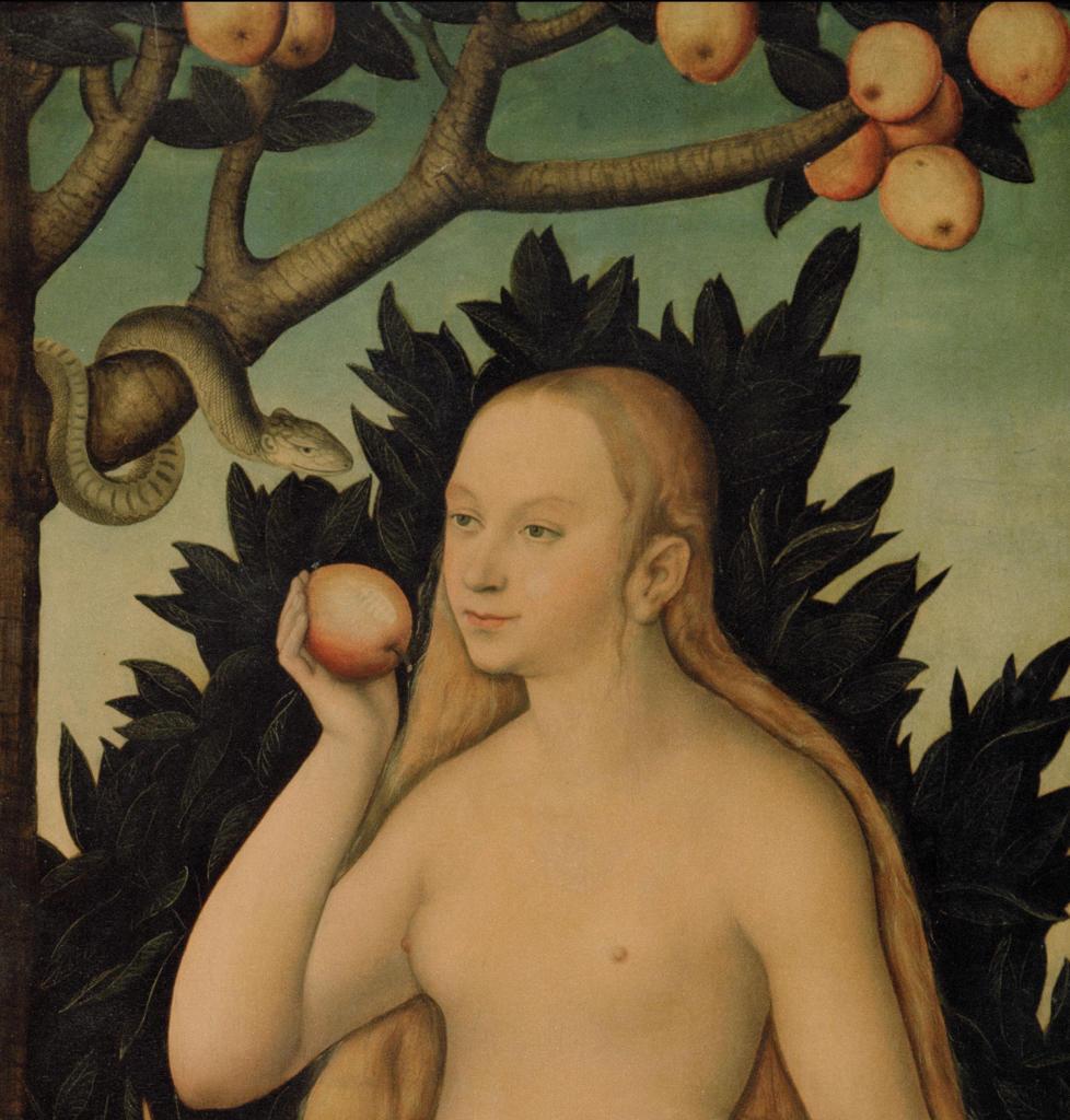 Stock Photo: 463-282747 Lucas Cranach d.J., Eva, Ausschnitt -  -