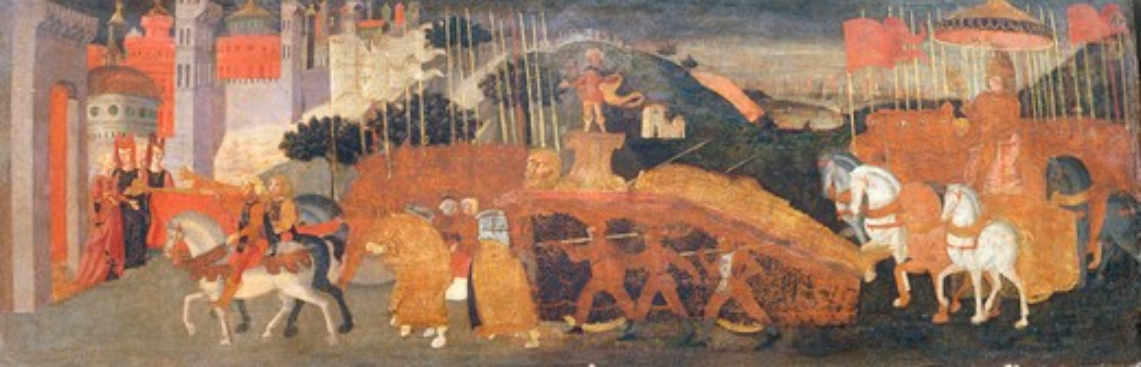 Stock Photo: 463-282928 Triumph of David / Florent.Paint./ C15th