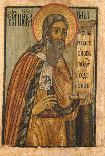 Stock Photo: 463-283007 Prophet Elijah / Russian Icon