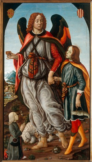 Stock Photo: 463-283123 F.Botticini / Tobias a.the Angel / C15