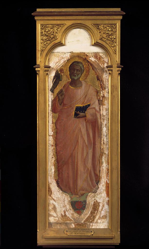 Fra Angelico / Matthew the Evangelist : Stock Photo
