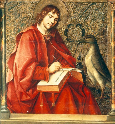 Stock Photo: 463-283164 P.Berruguete, John the Evangelist