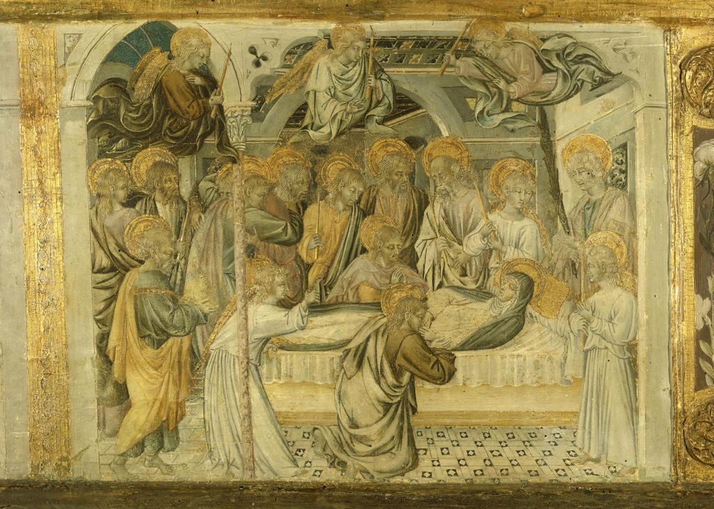 Stock Photo: 463-283188 Giovanni di Paolo, Death of Mary