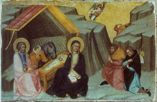 Stock Photo: 463-283287 Paolo di Giovanni Fei / Birth of Christ