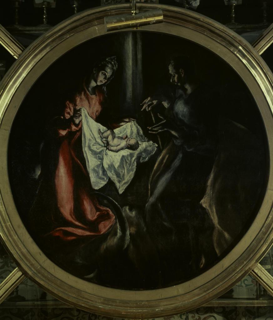 Stock Photo: 463-283317 El Greco / Birth of Christ / c. 1603