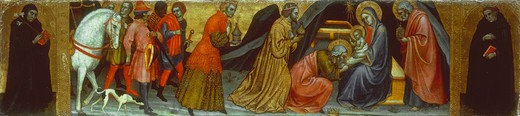 Stock Photo: 463-283362 Taddeo di Bartolo / Adoration of Kings
