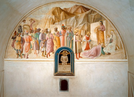 Stock Photo: 463-283365 Fra Angelico /Adoration of th.Kings/ C15