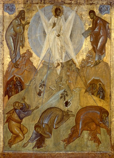 Stock Photo: 463-283561 Transfiguration / Theophanes the Greek