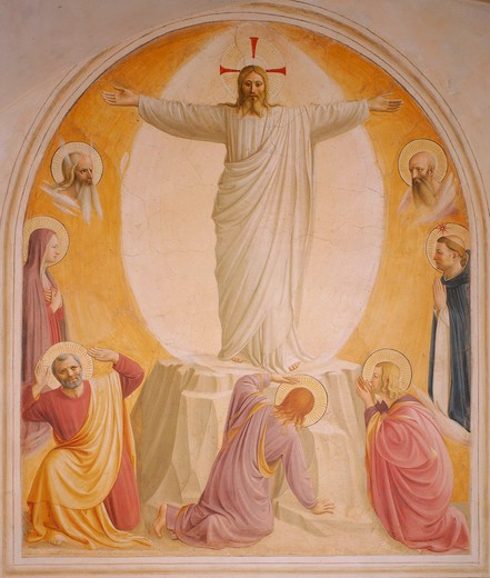 Stock Photo: 463-283562 Fra Angelico, Transfiguration of Christ