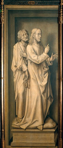 Stock Photo: 463-283565 Rogier v.d.Weyden, Christ and Disciples
