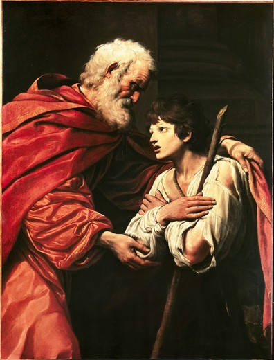 Stock Photo: 463-283580 Return of the Prodigal Son / Spada