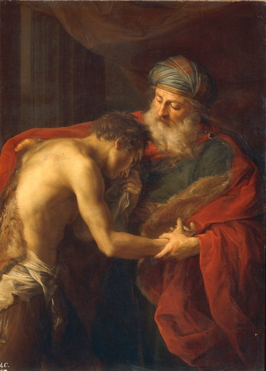 Stock Photo: 463-283583 Pompeo Batoni / ... Prodigal Son