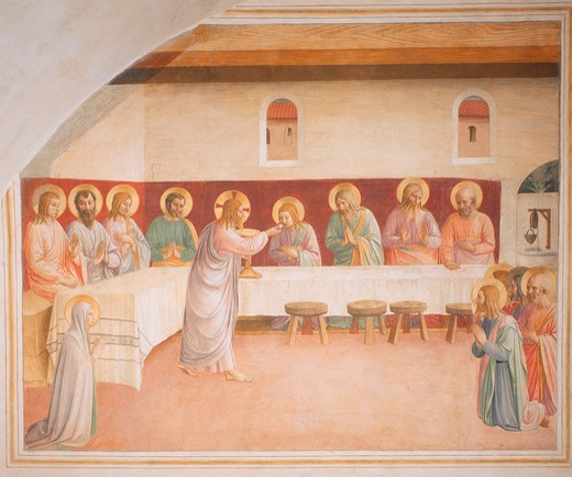 Stock Photo: 463-283637 Fra Angelico / The Last Supper / 1438