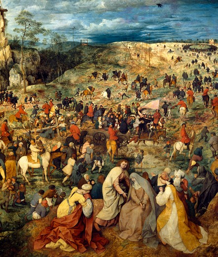Brueghel / Carrying the Cross / Detail : Stock Photo