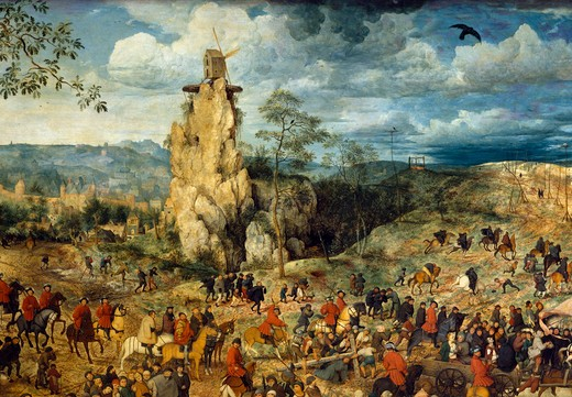 Stock Photo: 463-283704 Brueghel / Carrying the Cross / Detail
