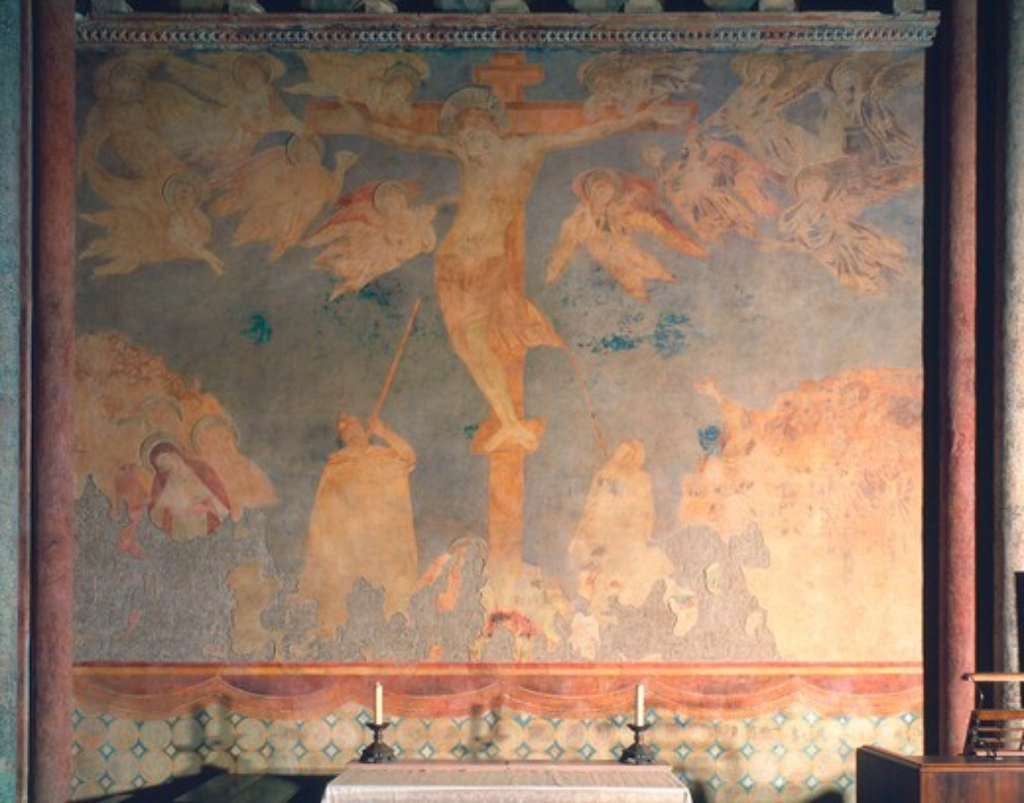 Stock Photo: 463-283721 Crucifixion / Cimabue / c.1280