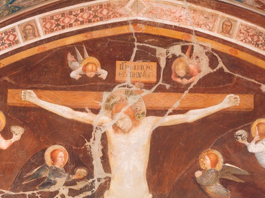 Stock Photo: 463-283728 Crucifixion / Puccio Capanna / C14th