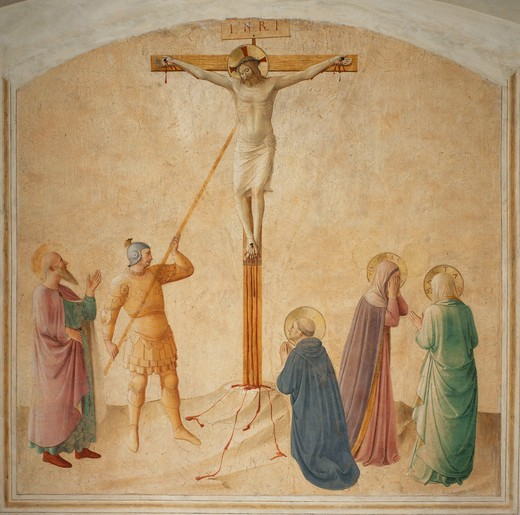Fra Angelico /Christ on the Cross/c.1437 : Stock Photo