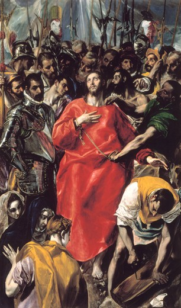 Stock Photo: 463-283768 El Greco / Disrobing of Christ
