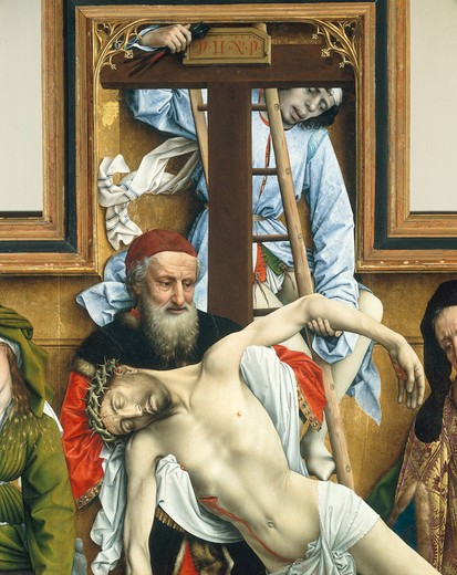 van der Weyden / Descent from the cross : Stock Photo