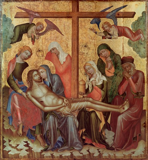 Stock Photo: 463-283805 Hohenfurth / Lamentation of Christ