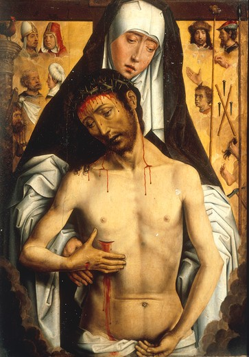 Stock Photo: 463-283815 H.Memling / Pieta