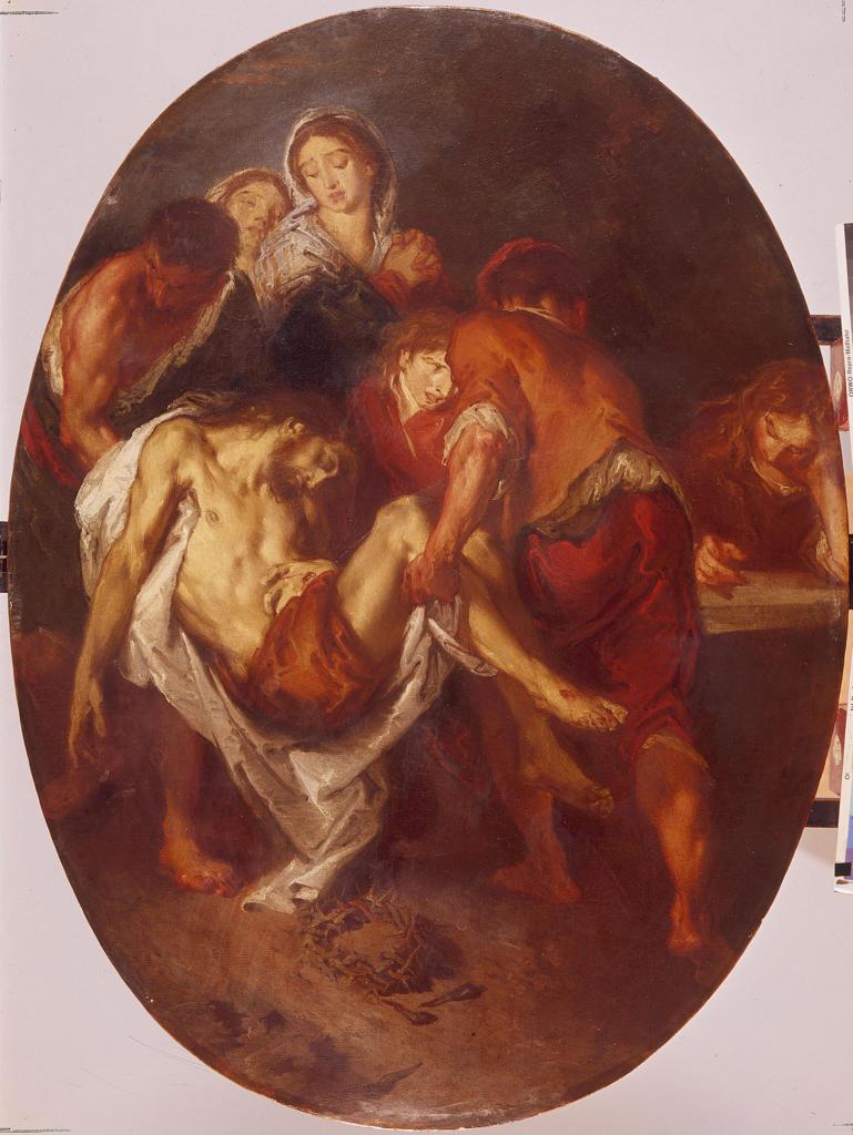 Entombment of Christ / Bazzani : Stock Photo