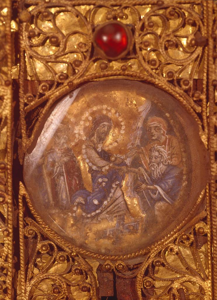Christ in Limbo / Diptych / Hilandar : Stock Photo