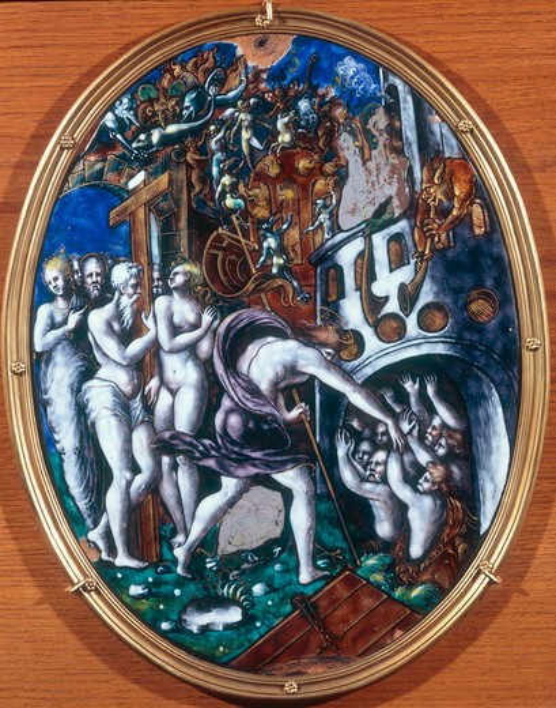 Stock Photo: 463-283857 L.Limosin / Christ in limbo / 1557