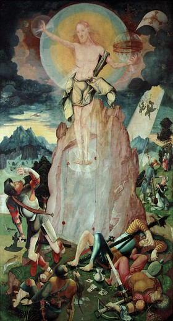 Stock Photo: 463-283866 J.Ratgeb, Auferstehung Christi -  -