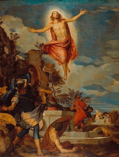 Paolo Veronese, Resurrection of Christ : Stock Photo