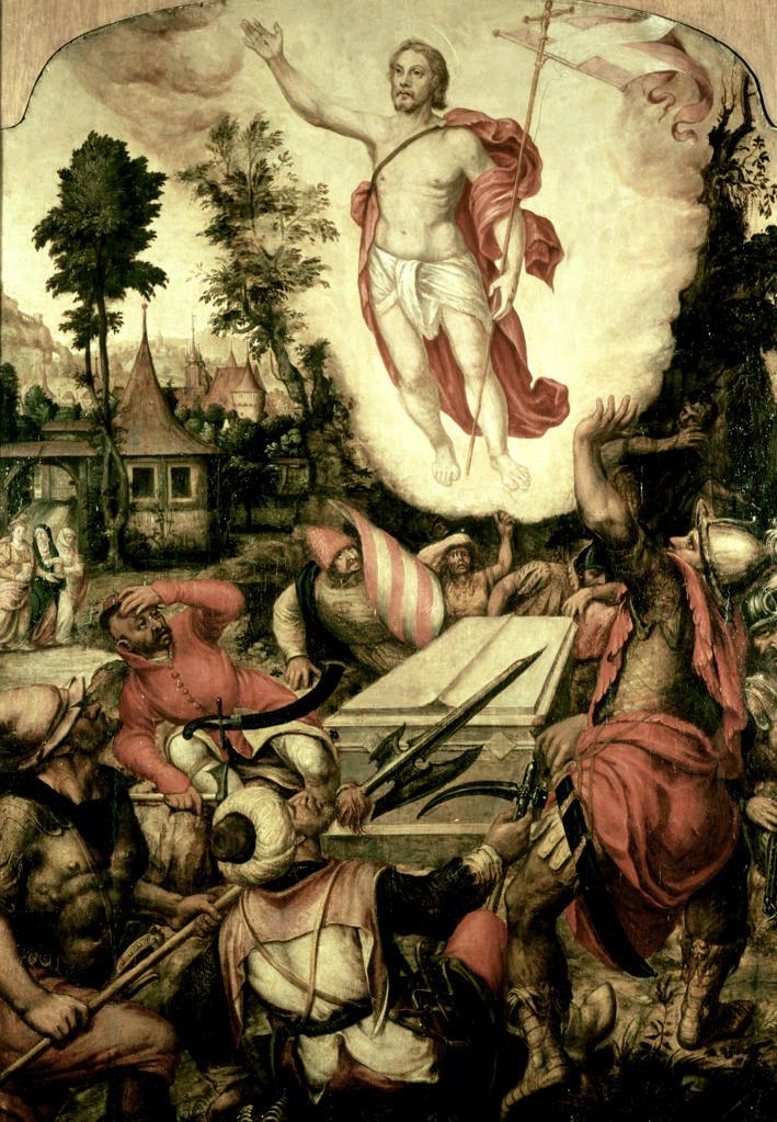 Stock Photo: 463-283870 Resurrection of Christ / Fendt / 1576